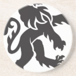 Heraldry Lion Drink Coaster