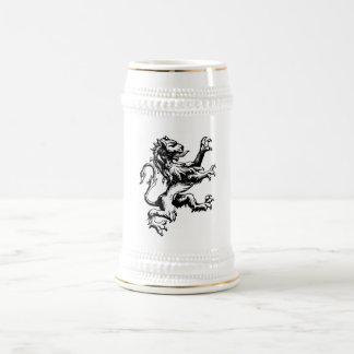 Heraldry Lion 18 Oz Beer Stein