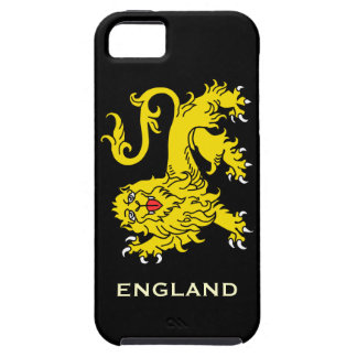 Heraldry Lion Passant England iPhone 5 Case