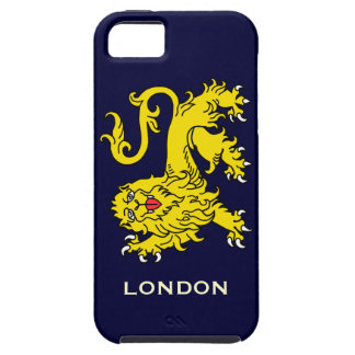 Heraldry Lion Passant London iPhone 5 Case