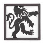 Heraldry Lion Premium Trinket Boxes