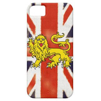 Heraldry Lion Vintage UK Flag iPhone 5 Case
