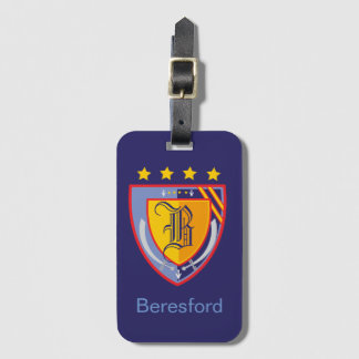 Heraldry Luggage Tag