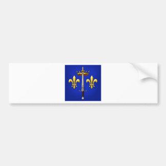 Heraldry of Joan of Arc Jeanne d'Arc Bumper Sticker