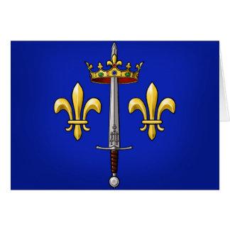 Heraldry of Joan of Arc Jeanne d'Arc Card