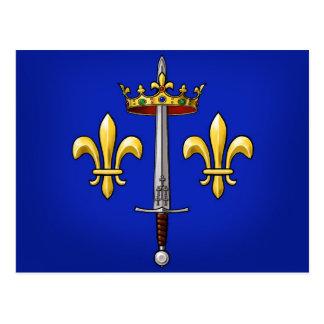 Heraldry of Joan of Arc Jeanne d'Arc Postcard