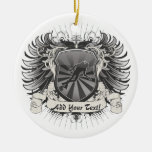 Heraldry Scuba Diving Christmas Ornament