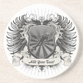 Heraldry Scuba Diving Drink Coaster