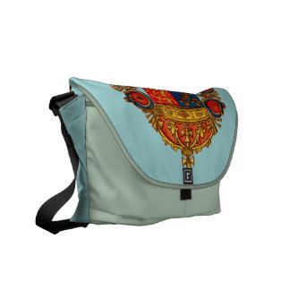 Heraldry with Crown Courier Bag