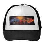 Heralds y gorra del camionero de los herejes