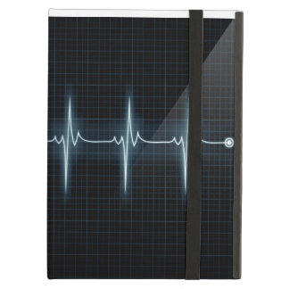 Herat Beat Pulse Trace iPad Powis Cover For iPad Air