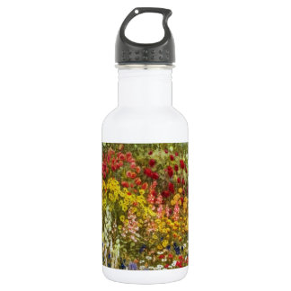 Herb and Flower Border 18oz Water Bottle