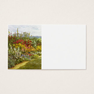 Herb and Flower Pathway Business Card