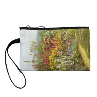 Herb and Flower Pathway Change Purse