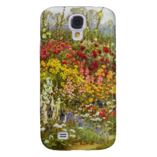 Herb and Flower Pathway Galaxy S4 Case