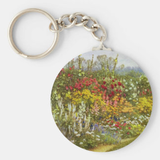 Herb and Flower Pathway Keychain