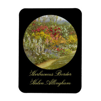 Herb and Flower Pathway Magnet
