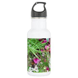 Herb collection chives photograph art water bottle
