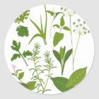 Herb Collection Sticker