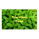 Herb Farm Double-Sided Standard Business Cards (Pack Of 100)
