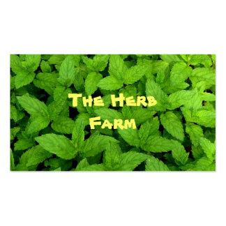 Herb Farm Business Card Template