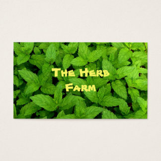 Herb Farm Business Card