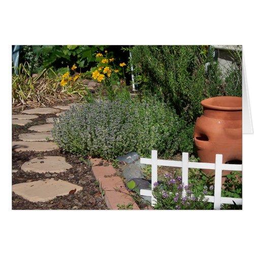 Herb Garden card