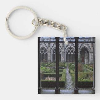 Herb garden, Dom church, Utrecht Keychain