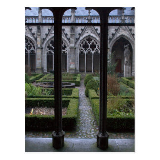 Herb garden, Dom church, Utrecht Postcard