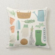 Herb Garden Pillow