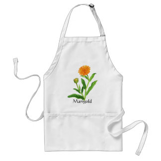 Herb Garden Series - Marigold Adult Apron