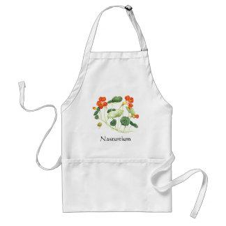 Herb Garden Series - Nasturtium Adult Apron