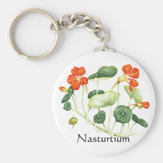 Herb Garden Series - Nasturtium Keychains