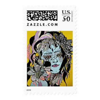 """Herb Gardener"" Postage Stamp"