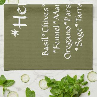 Herb Kitchen Towel