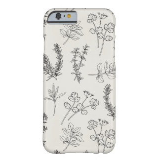 Herb LineArt Barely There iPhone 6 Case