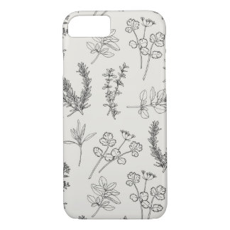 Herb LineArt iPhone 8/7 Case