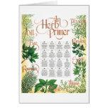 Herb Primer card