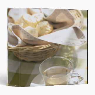 Herb Tea and Corn 3 Ring Binder