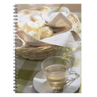Herb Tea and Corn Spiral Notebook