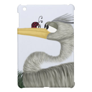 Herb The Heron And His Visitor iPad Mini Covers