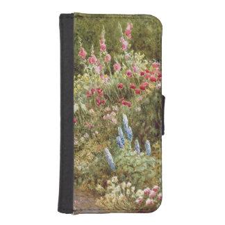 Herbaceous Border iPhone SE/5/5s Wallet Case
