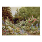 Herbaceous Border Poster