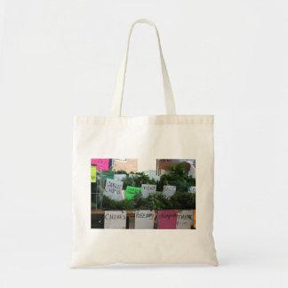 Herbal Budget Tote Canvas Bag