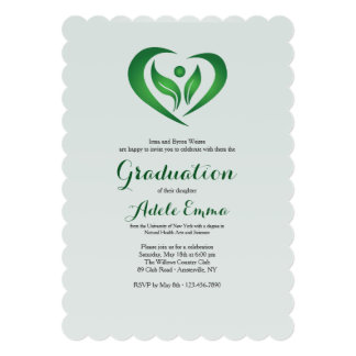 Herbal Health Professional Graduation Invitation