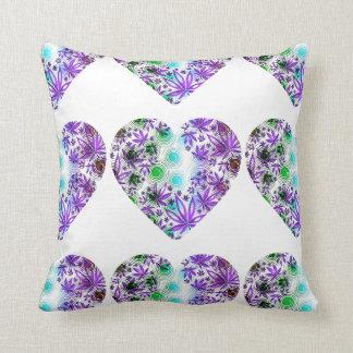 Herbal Love Throw Pillow