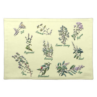 Herbal  Placemat