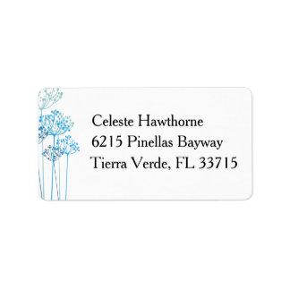 Herbal Rhapsody Wedding Label