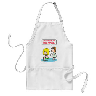 herbal shampoo aphids adult apron