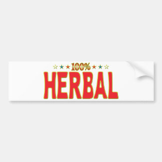 Herbal Star Tag Bumper Stickers